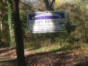 Hospice Sign 11.5.13