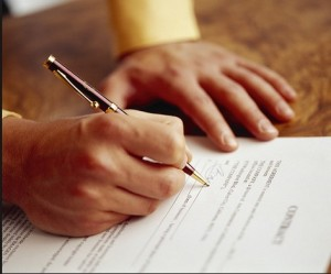 Sign Agreement