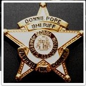 Sheriff Pope Badge Pic