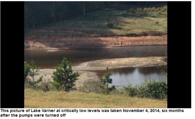 BCR Lake Varner
