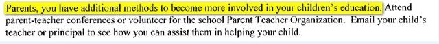 BOE parent involve