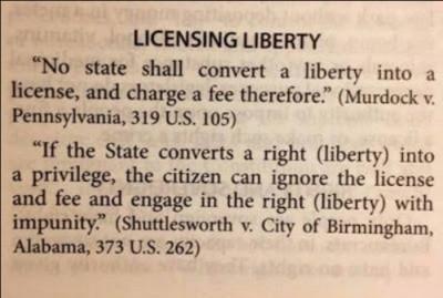 Licensing Liberty