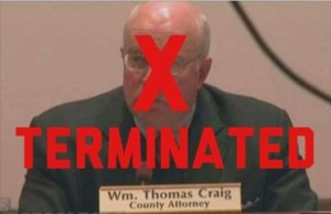 Tommy Craig Terminated